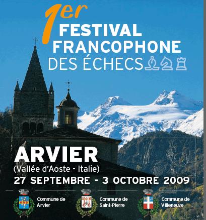 1r Festival francophone des échecs
