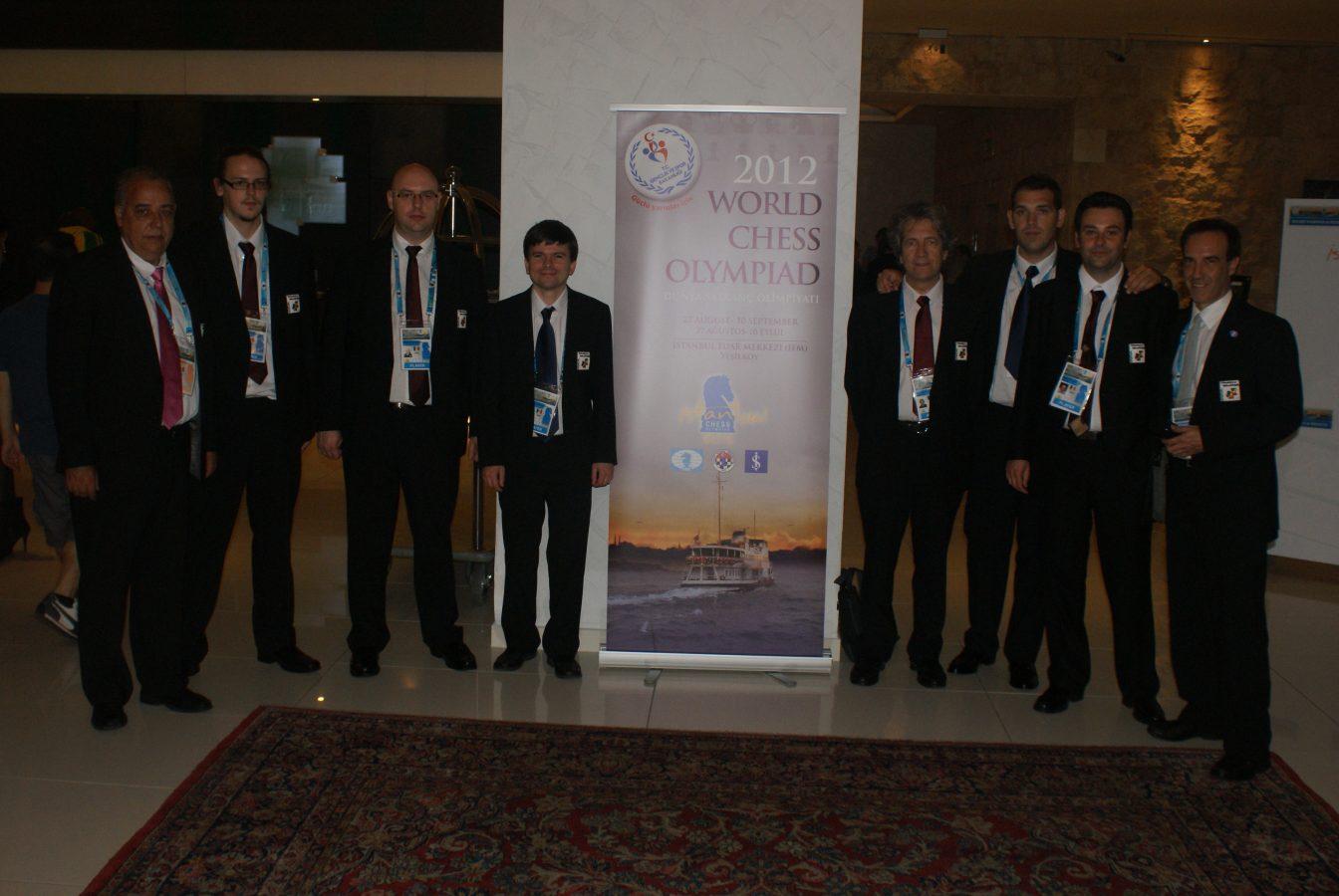40 Olimpíades Istanbul – Inauguració