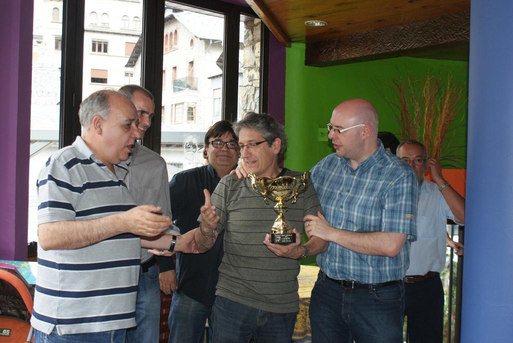 Campionat Absolut d'Andorra 2012 – Bases