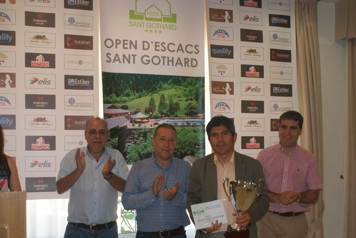 33 Open Andorra Hotel St. Gothard