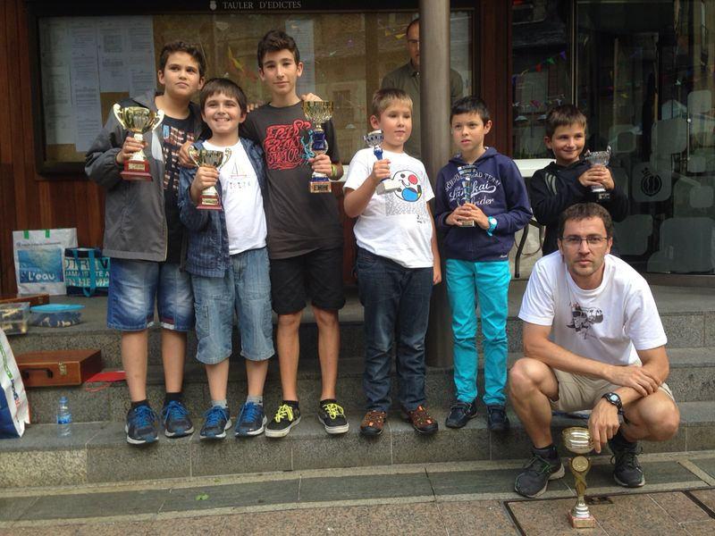 Marató d'Escacs d'Andorra 2015 – Bases