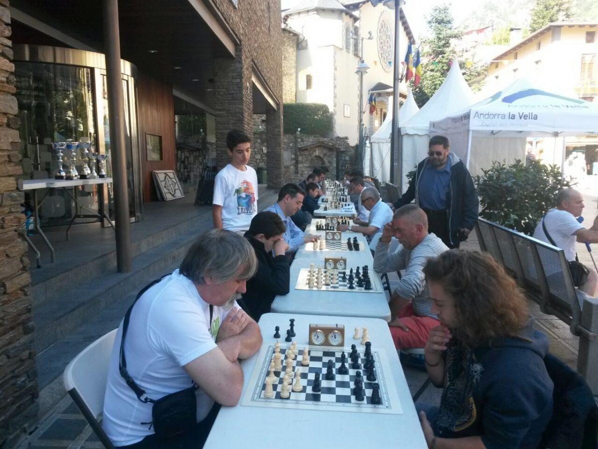 Marató d'Escacs d'Andorra 2017 – Bases