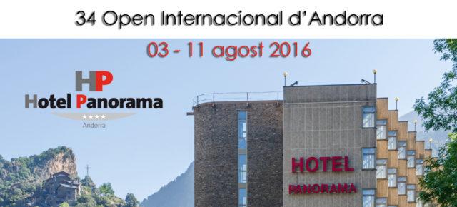 34 Open d'Andorra - Informació