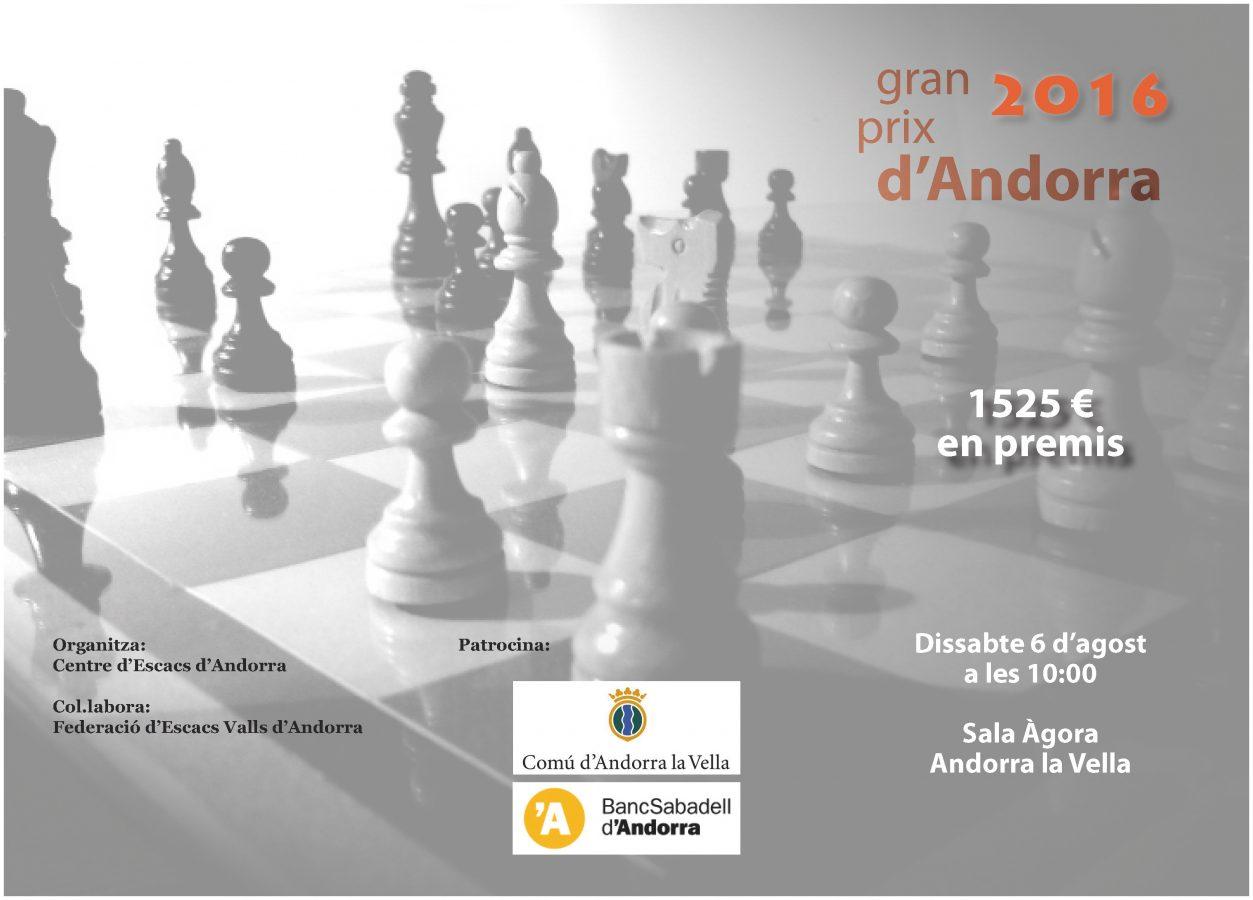 Gran Prix d'Andorra 2016 – Bases