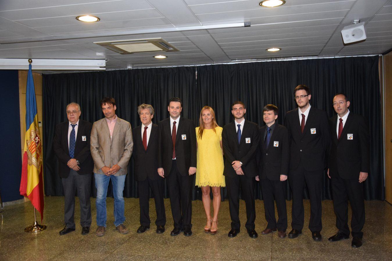 42 Olimpíades Bakú – Recepció equip