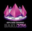 42 Chess Olympiad - Baku 2016