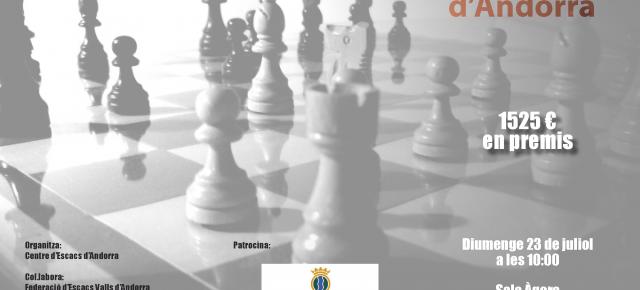 Gran Prix d'Andorra 2017 - Bases