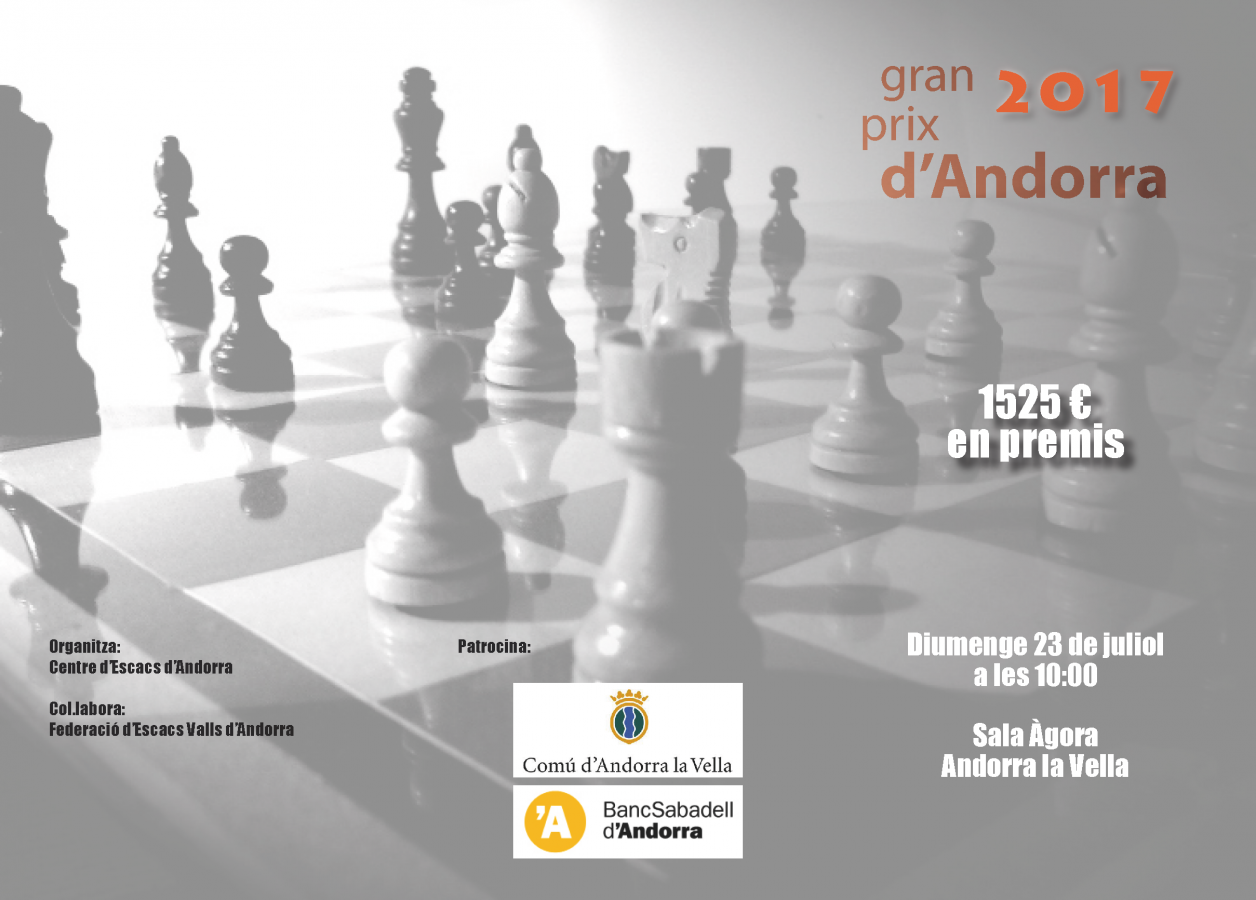 Gran Prix d'Andorra 2017 – Bases