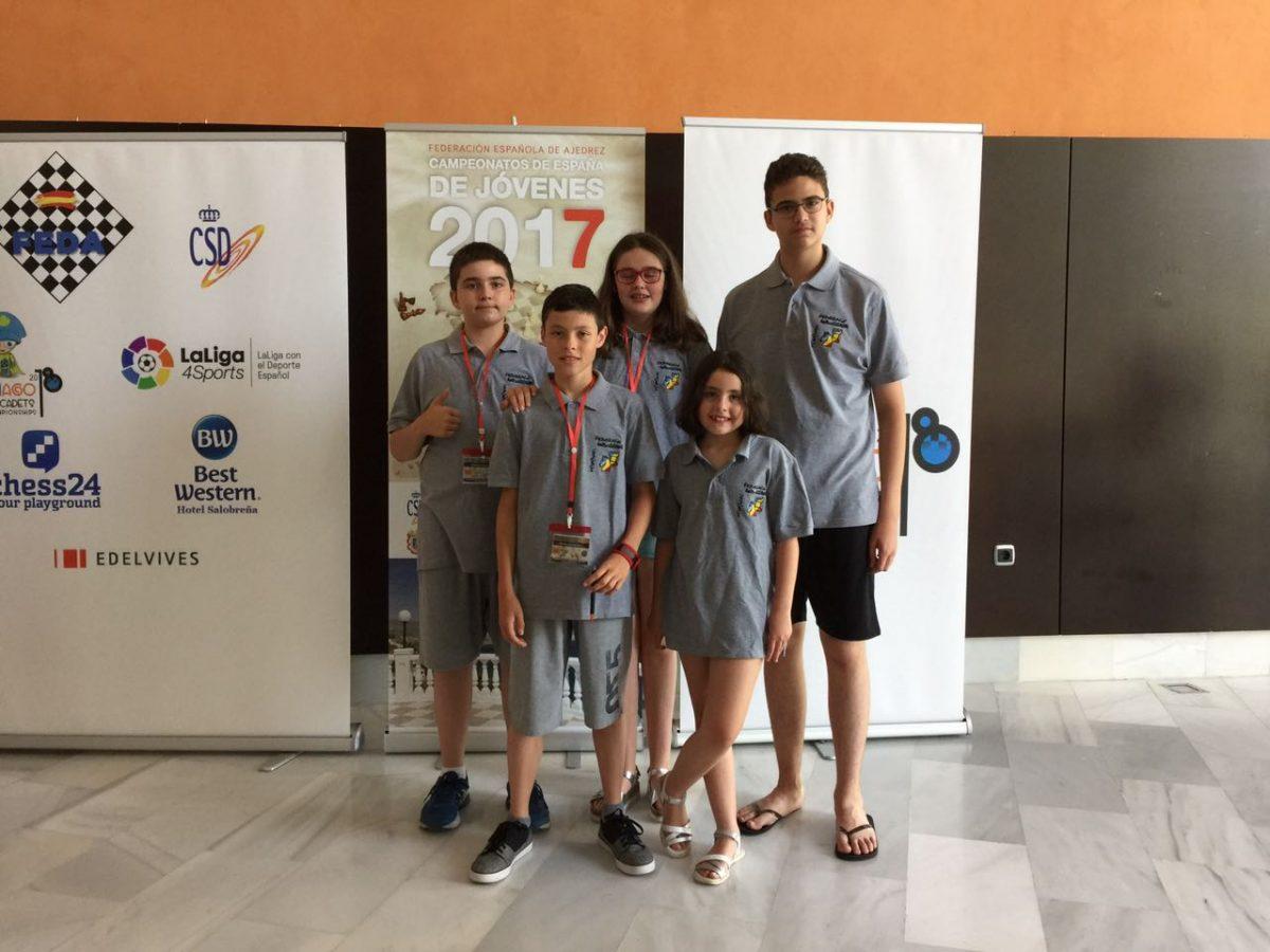 2017 Campionat Espanya sub12 – R6 a R9
