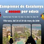 Finals Catalunya per Edats 2018 – Prèvia