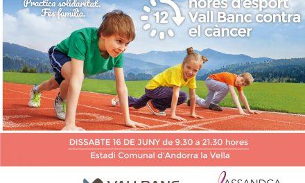 12 hores d'esport Vall Banc contra el càncer 2018