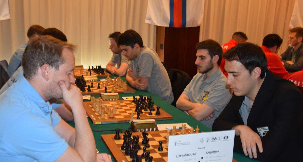 6è Campionat dels Petits Estats d'Europa – Ronda 01
