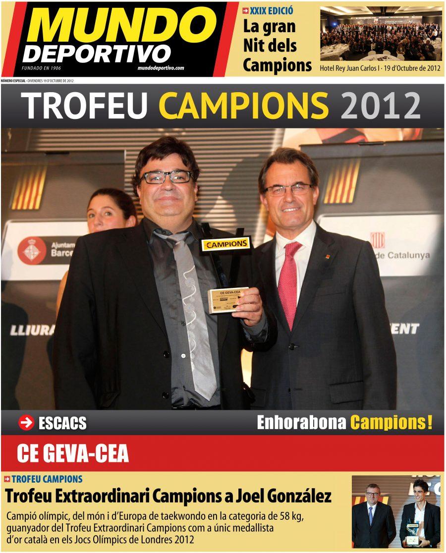 Premis Mundo Deportivo 2012