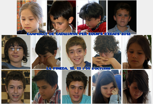 Finals Catalanes Equips Edats 2012 – Prèvia