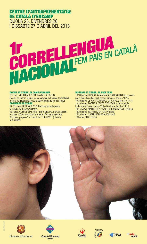 Obert d'Escacs – 1r Correllengua Nacional
