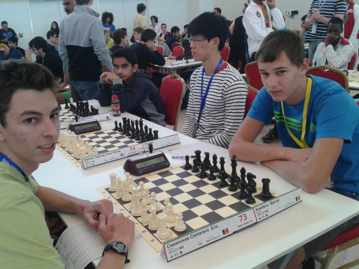 2013 Campionat del Món per edats – R9