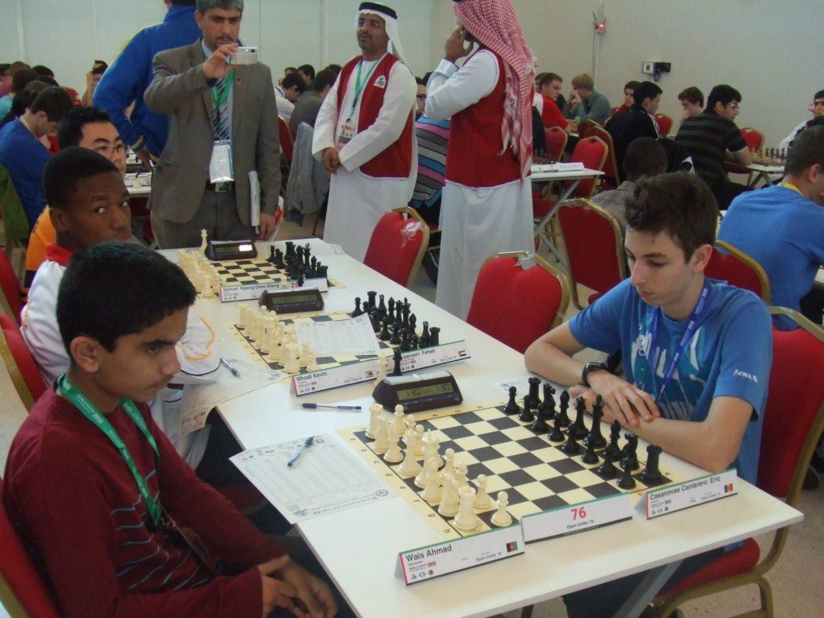 2013 Campionat del Món per edats – R6