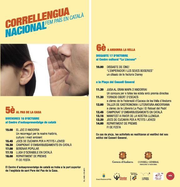 Torneig 6è Correllengua Nacional