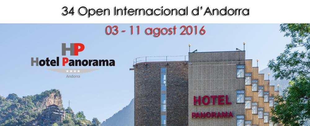 34 Open d'Andorra – Informació