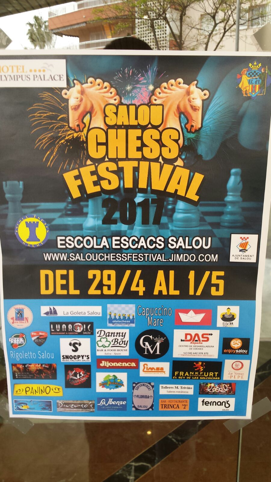 Salou Chess Festival 2017