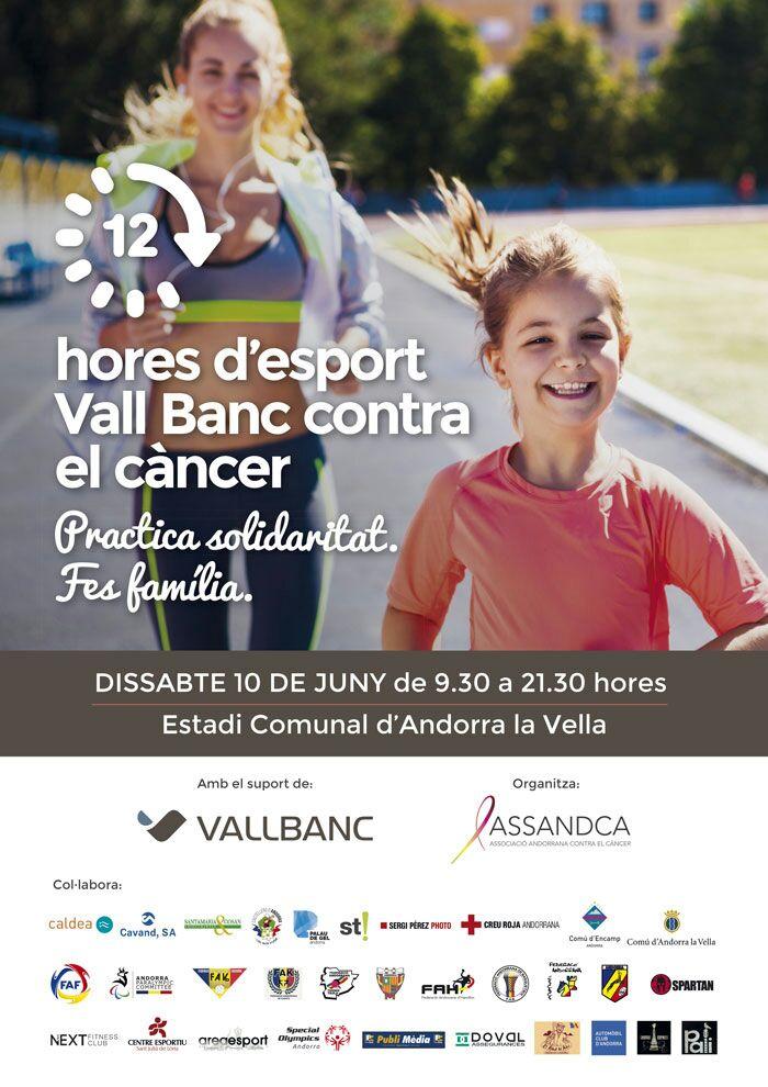 12 hores d'esport Vall Banc contra el càncer