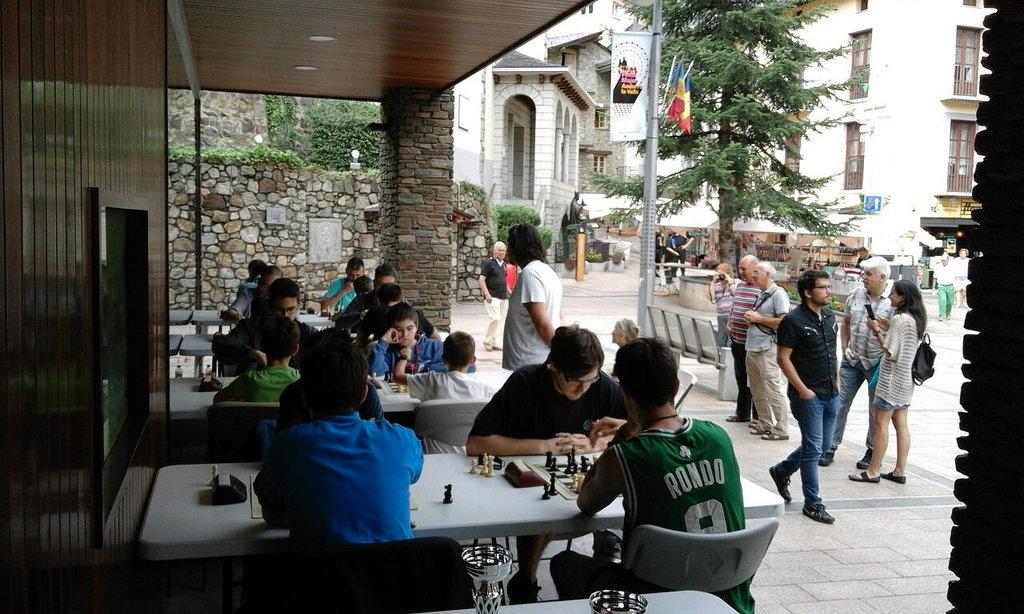 Marató d'Escacs d'Andorra 2018 – Bases
