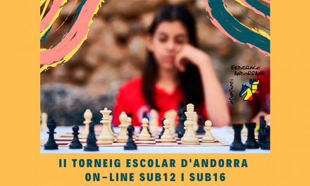 II Torneig Escolar d'Andorra sub12 i sub16 on-line