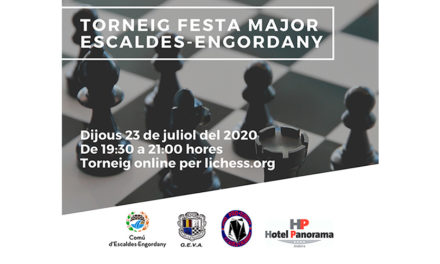 Festa Major Escaldes-Engordany 2020 – Bases