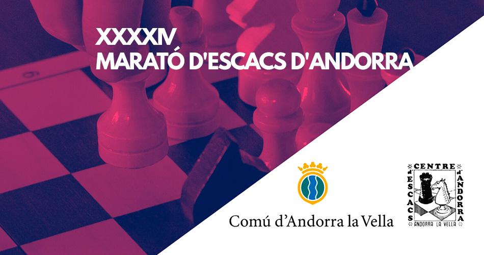 Marató d'Escacs d'Andorra 2020 – Bases