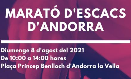 Marató d'Escacs d'Andorra 2021 – Bases